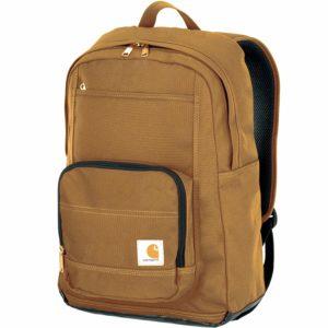 Carhatt Brown Work Backpack with Padded Laptop